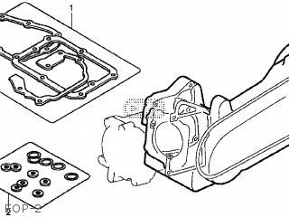 Honda NPS50 ZOOMER 2005 (5) JAPAN AF58-140 parts lists and