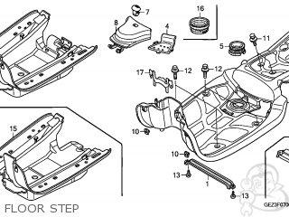 Honda NPS50 ZOOMER 2009 (9) KOREA parts lists and schematics