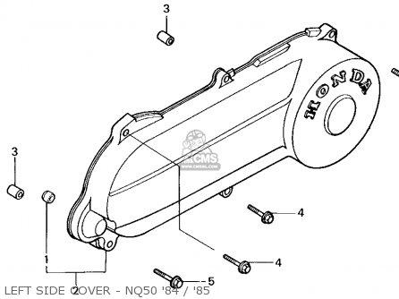 Honda Nq50 Spree 1984 (e) Usa parts list partsmanual