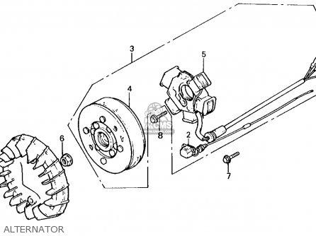 Honda Nq50 Spree 1986 (g) Usa parts list partsmanual