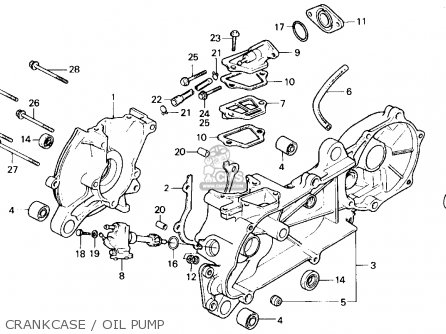 1986 Honda Spree Engine Diagram, 1986, Free Engine Image