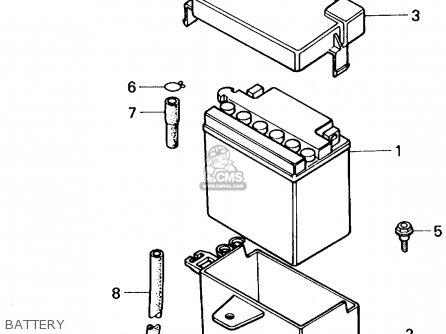 Honda Nq50d Spree Special 1986 (g) Usa parts list