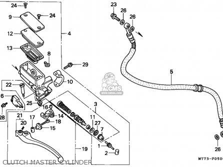 Honda Nr750 1992 (n) England parts list partsmanual partsfiche