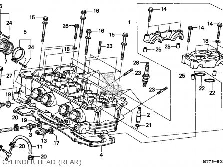 Honda NR750 1992 (N) ENGLAND parts lists and schematics
