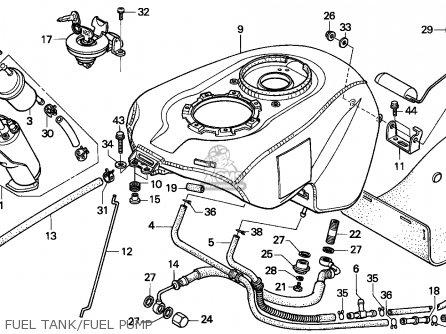 Honda NR750 1992 (N) ENGLAND parts lists and schematics