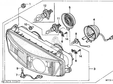 Honda NR750 1992 (N) GERMANY parts lists and schematics