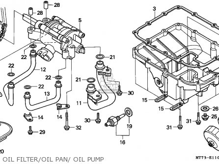 Honda Nr750 1992 (n) Germany parts list partsmanual partsfiche