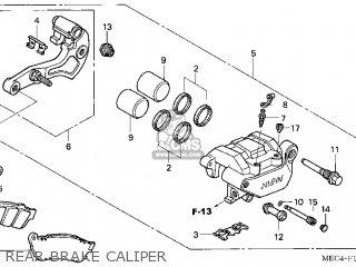 Honda NRX1800DA VALKYRIE RUNE 2004 (4) USA parts lists and