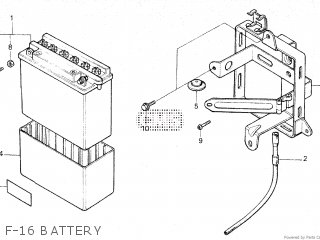 Honda NS125F 1986 (G) parts lists and schematics