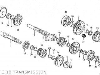 Honda NS125R2 1987 (H) parts lists and schematics
