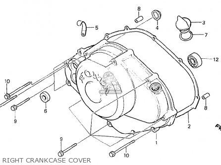 Honda NS400R 1985 (F) ENGLAND parts lists and schematics