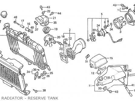 Honda NS400R 1985 (F) EUROPEAN DIRECT SALES parts lists