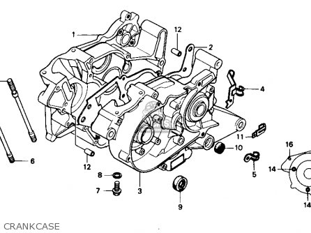 Honda Ns50f 1990 (l) Usa parts list partsmanual partsfiche