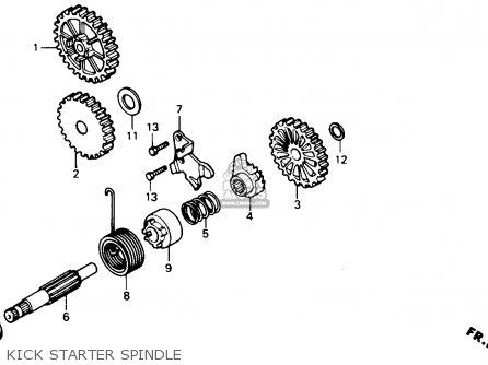 Honda NS50F 1990 (L) USA parts lists and schematics