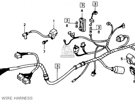 Honda Ns50f 1990 Usa parts list partsmanual partsfiche