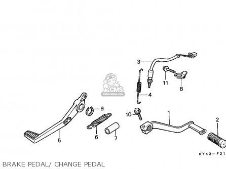 Honda Nsr125f 1988 (j) Portugal / Kph parts list