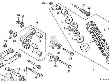 Honda NSR125F 1988 (J) PORTUGAL / KPH parts lists and