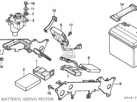 Honda NSR125F 1991 (M) ENGLAND / MKH parts lists and