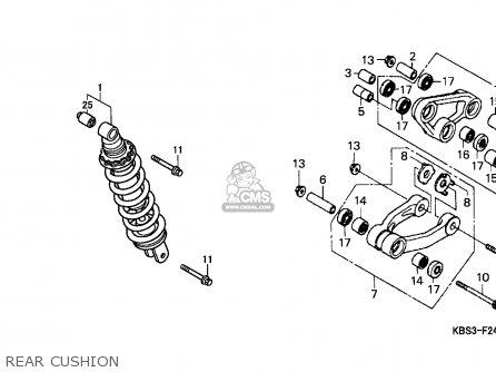Honda NSR125F 1993 (P) SPAIN parts lists and schematics