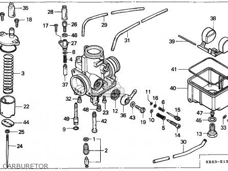 Honda NSR125F 1993 (P) SWITZERLAND parts lists and schematics