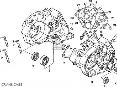 Honda Nsr125f 1993 (p) Switzerland parts list partsmanual
