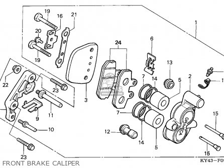 Honda NSR125R 1990 (L) FINLAND / KPH parts lists and