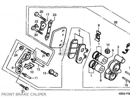 Honda NSR125R 1993 (P) SPAIN parts lists and schematics
