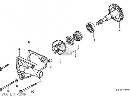 Honda NSR125R 1998 (W) SPAIN parts lists and schematics