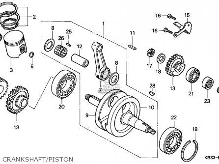 Honda NSR125R 1999 (X) ITALY / LS parts lists and schematics