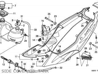 Honda NSR125R 2001 (1) ENGLAND EUROPEAN DIRECT SALES parts