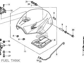 Honda NSR125R 2001 (1) EUROPEAN DIRECT SALES parts lists