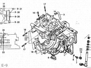 Honda NSR250R 1986 (G) JAPAN MC16-100 parts lists and