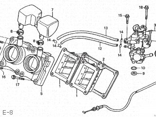 Honda NSR250R5 1989 (K) JAPAN parts lists and schematics