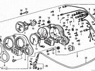 Honda NSR250R7 1990 (L) JAPAN parts lists and schematics