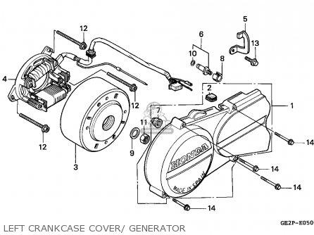 Honda NSR50F 1995 (S) PORTUGAL parts lists and schematics