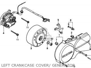 Honda NSR50R 1997 (V) SPAIN parts lists and schematics