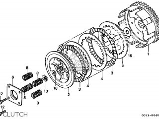 Honda NSR50R 1999 (X) PORTUGAL / REP parts lists and