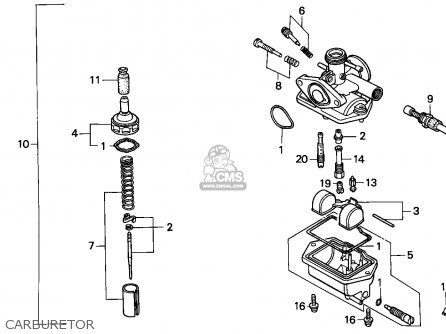 Honda nsr parts manual