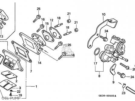 Honda Nsr50s 1994 (r) Belgium / Hor parts list partsmanual