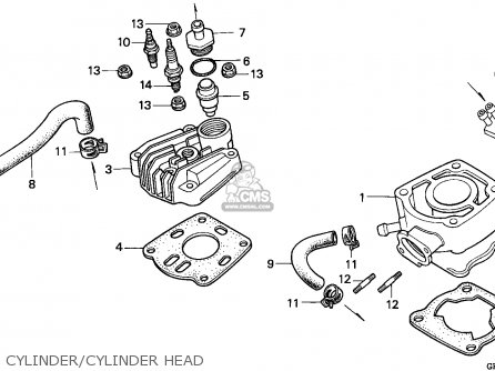 Honda NSR50S 1995 (S) GERMANY / HOR parts lists and schematics