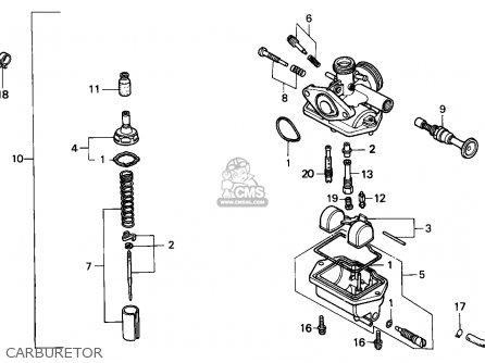 Honda NSR75 1994 (R) SPAIN / HRC parts lists and schematics