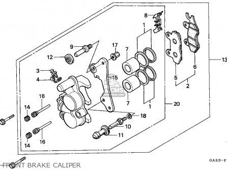 Honda NSR75 1999 (X) SPAIN parts lists and schematics