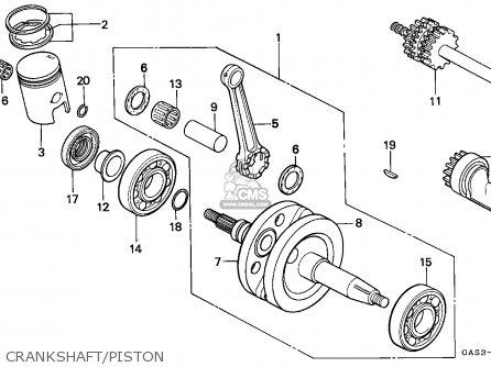 Honda NSR75 2000 (Y) SPAIN / REP parts lists and schematics