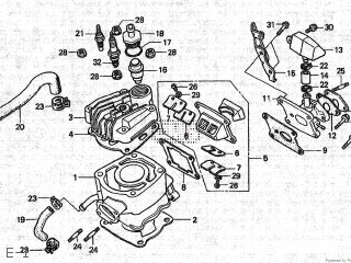 Honda Nsr80 1988 (j) Type 2 Japan Hc06-100 parts list