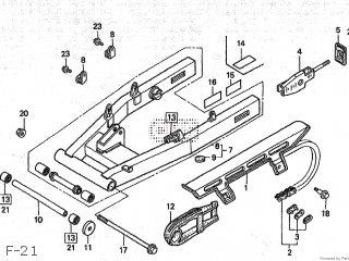 Honda Nsr80 1988 (j) Type 2 Japan Hc06-100 parts list