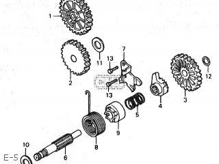 Honda NSR80 1990 (L) JAPAN HC06-120 parts lists and schematics