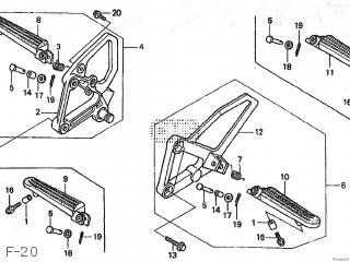 Honda NSR80 1992 (N) JAPAN HC06-130 parts lists and schematics