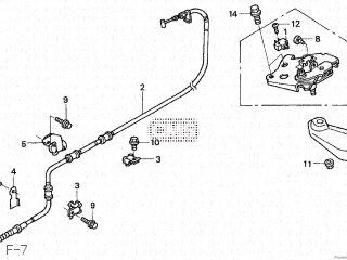 Honda NSS250 2004 (4) JAPAN MF08-100 parts lists and