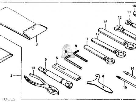Honda Nt650 Hawk Gt 1988 (j) Usa California parts list