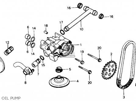 Honda NT650 HAWK GT 1989 (K) USA CALIFORNIA parts lists